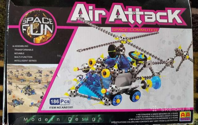 "Daiktas ""Air attack"" + Lego"