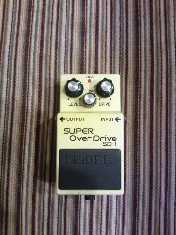 Daiktas BOSS super overdrive sd-1
