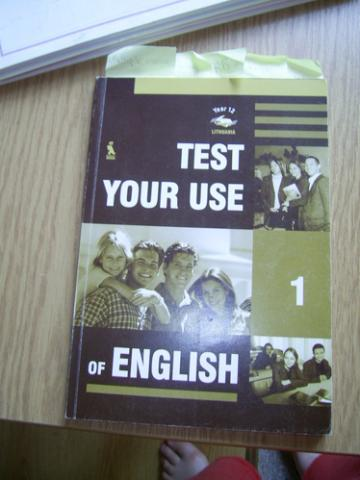 Daiktas test your use of english