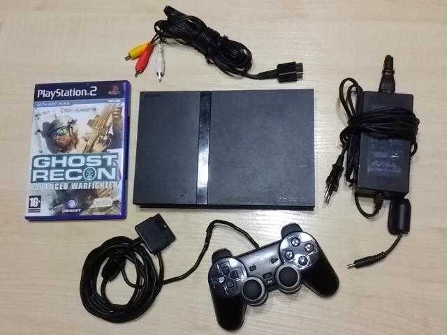 Daiktas PlayStation 2 slim Ghost recon