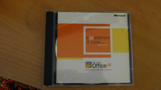 Daiktas microsoft office xp 2003 originalus bandomasis cd