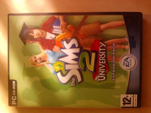 Daiktas Originalus The Sims 2 University