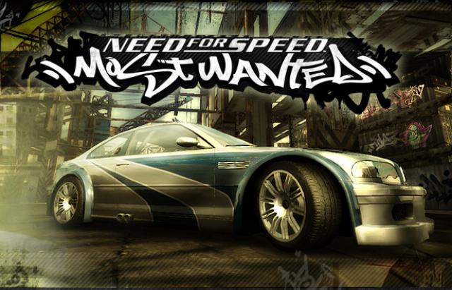 Daiktas Need for speed Most wanted žaidimas
