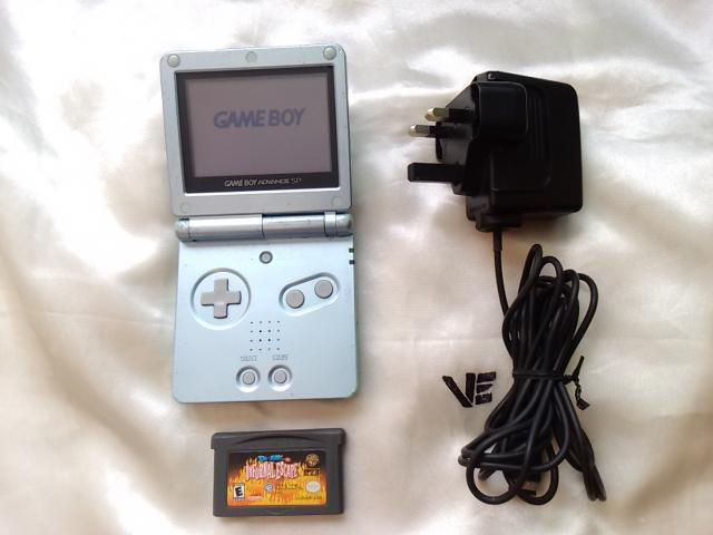 Daiktas (nebėra) Nintendo game boy advance sp + Tom and Jery