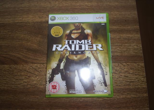 Daiktas Tomb Raider:Underworld XBOX 360